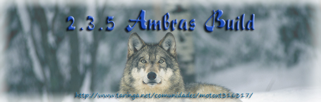 ► Android 2.3.5 Ambras Build (Custom ROM)
