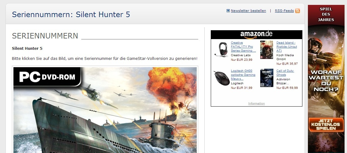 Silent Hunter 5 Gratis! para Uplay