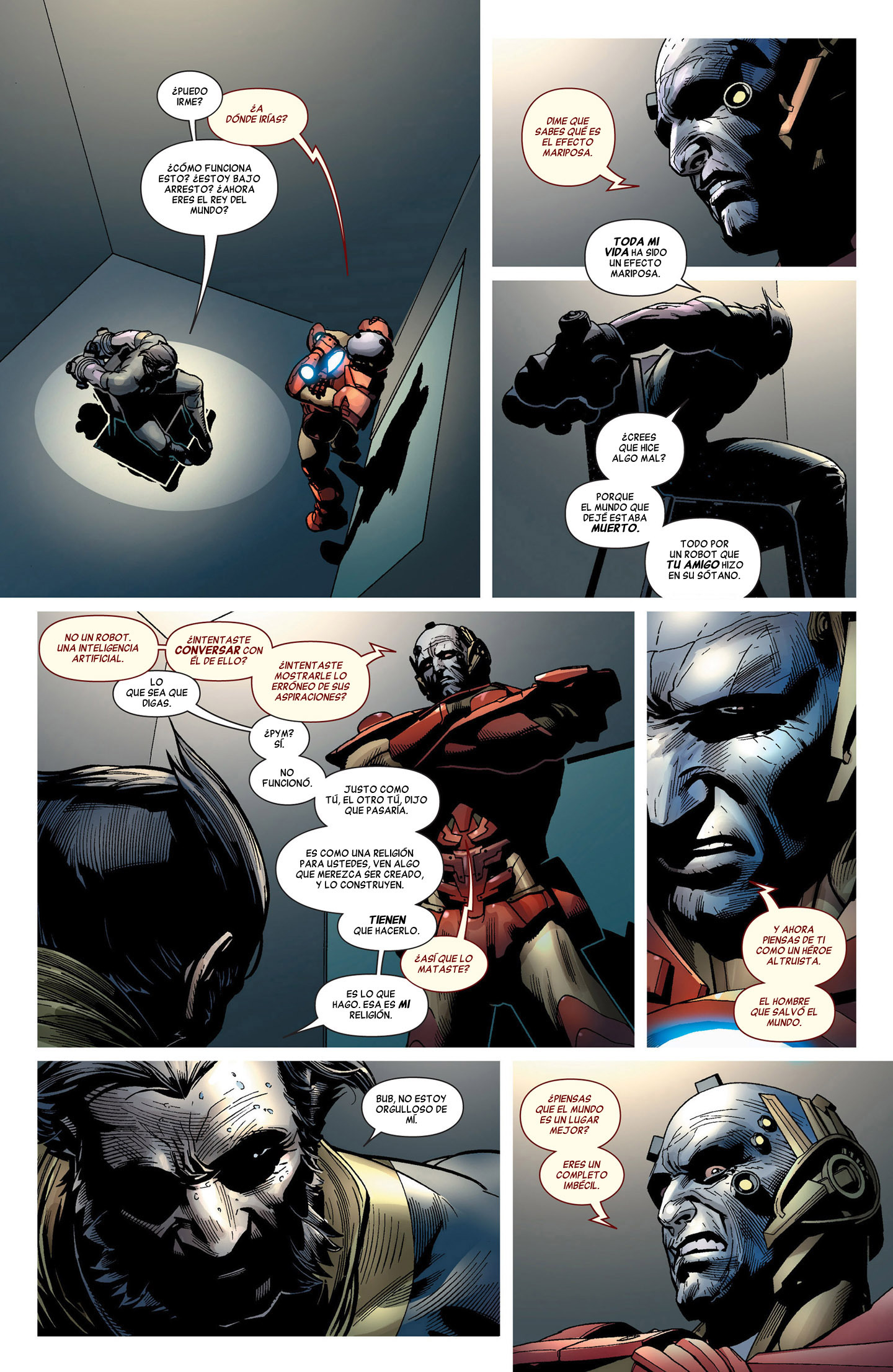 La era de Ultron 8  Evento marvel
