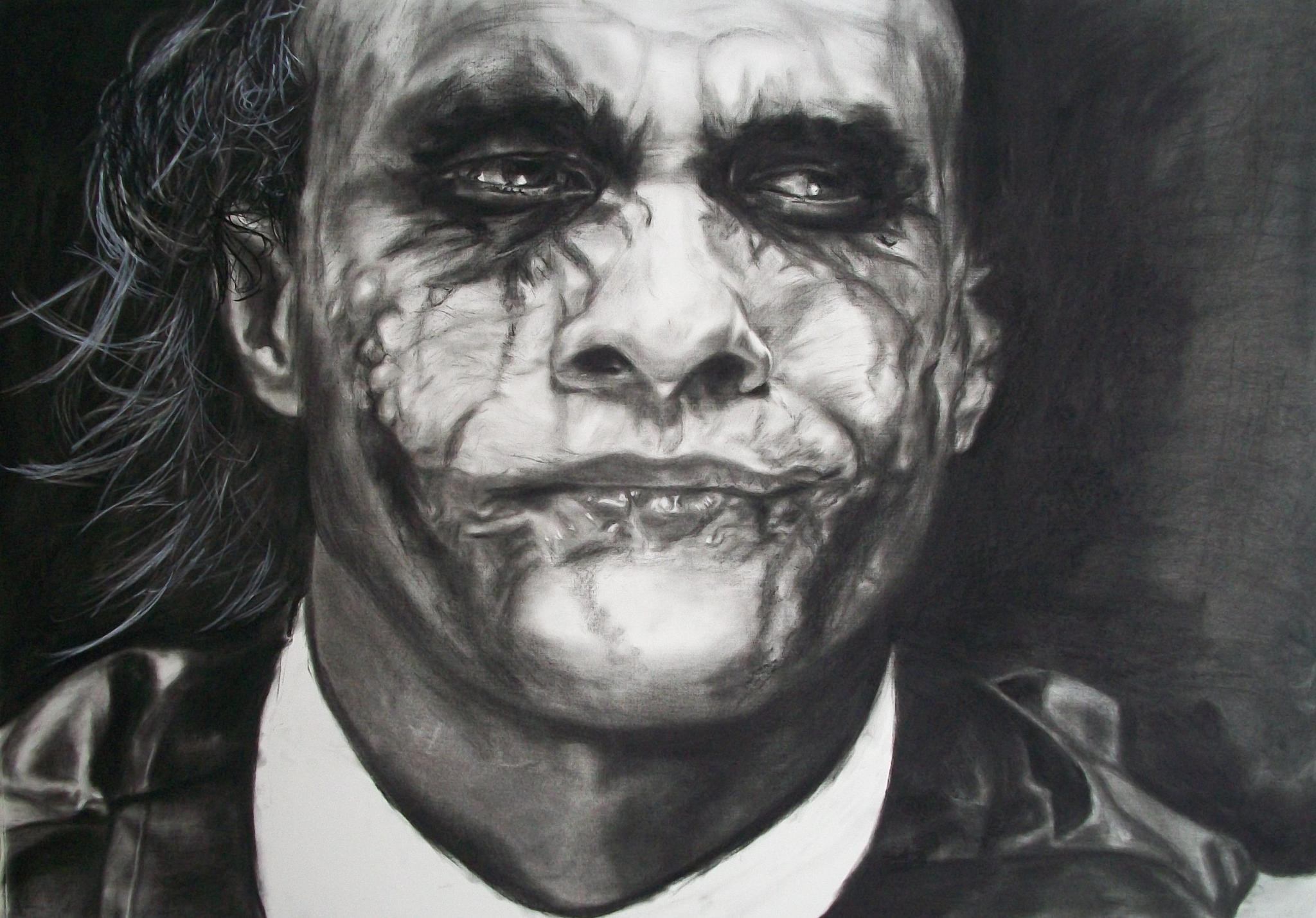 retrato the joker