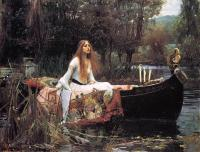 "#Arte ""La dama de Shalott"" - John William Waterhouse."