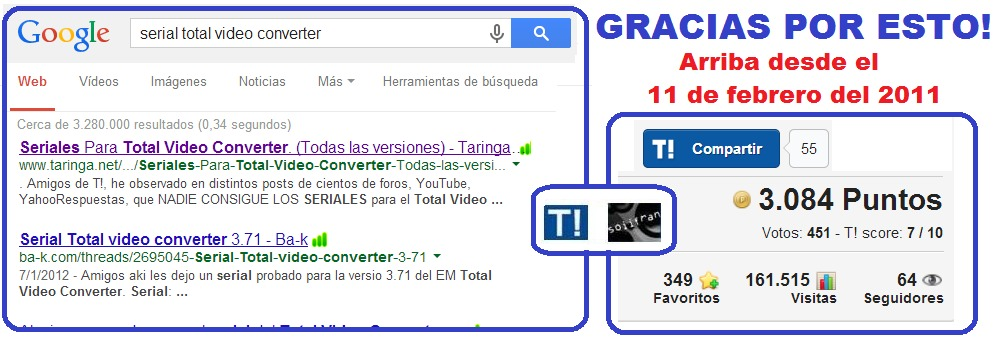 Seriales Para Total Video Converter. (Todas las versiones)