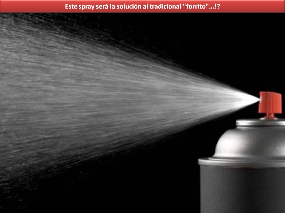 El preservativo en spray!!!