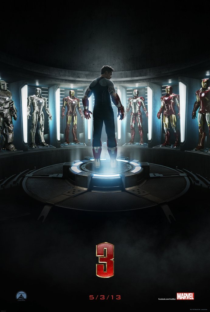 Iron Man 3 Official Trailer (2013) mas info