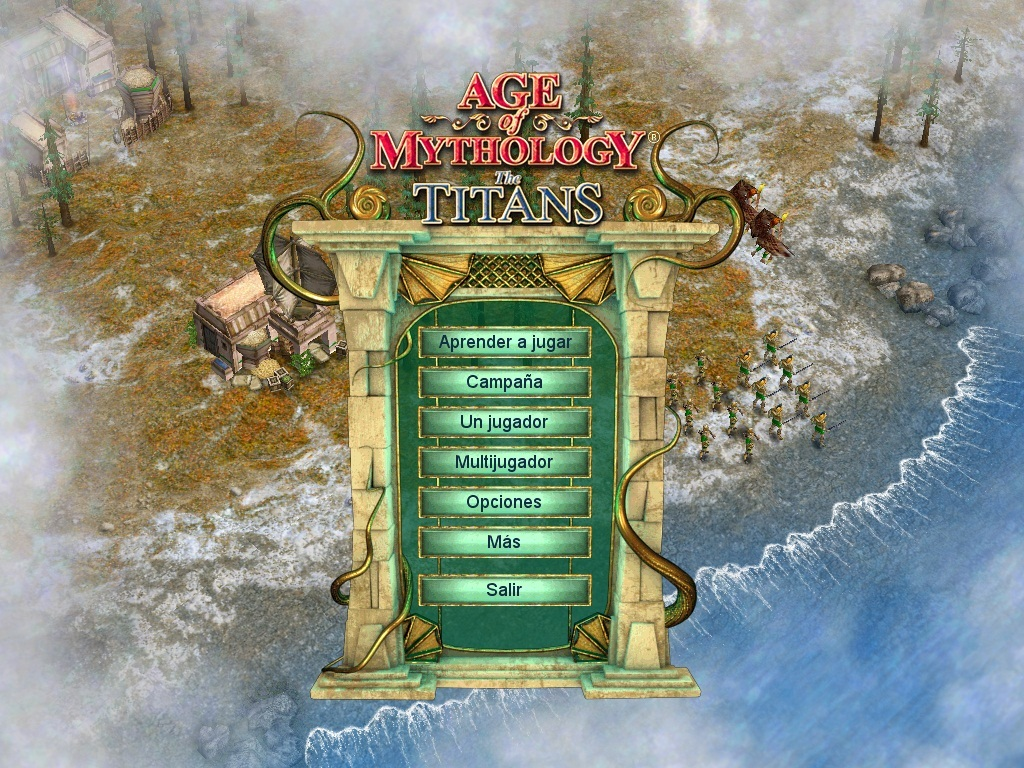 Age of Mythology + The titans (español) [Mega]