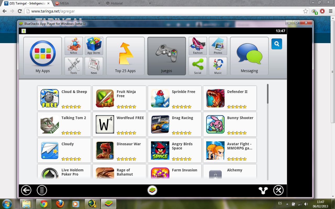 (Aporte)* Emulador de Android - BlueStacks HD [MEGA]