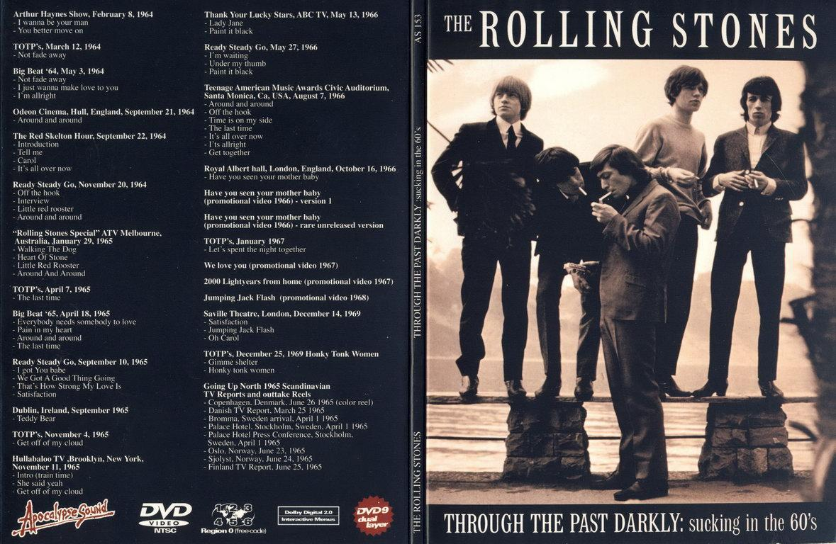 The Rolling Stones - Through The Past Darkly 60's - DVD ...