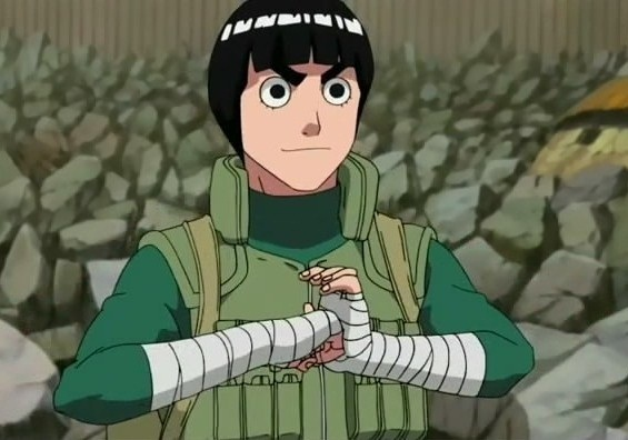 Rock Lee, yo te banco