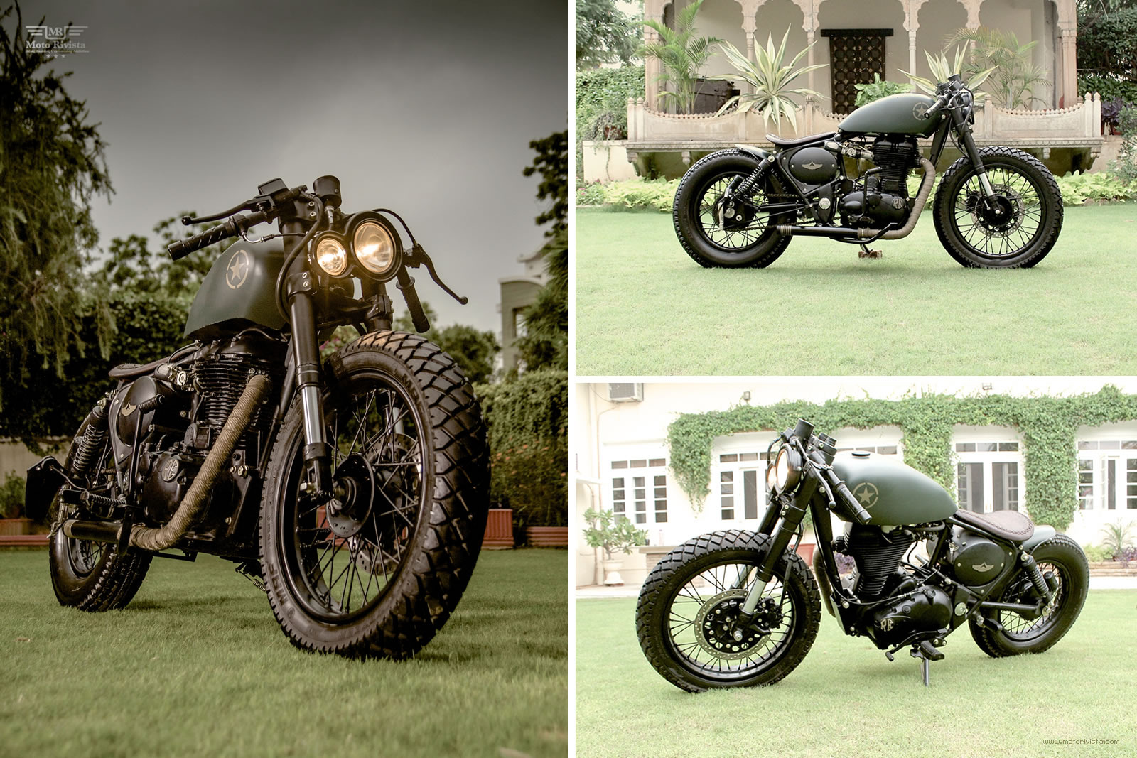 Royal Enfield 500cc Classic by Rajputana Customs - Autos y Motos ...