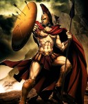THIS IS SPARTAAAAAAAAAAAAAAAAAA !!!!!!!  #anime #AnimePic #sparta