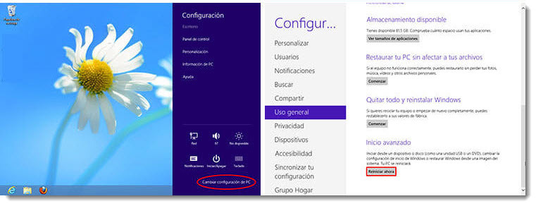 Repara problemas de Windows 7 -Windows 8 y Windows XP