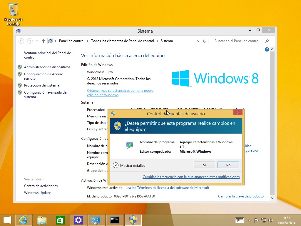 clave de windows 8.1 pro con media center