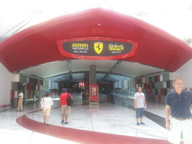 Ferrari World Abu Dhabi (Fotos propias)