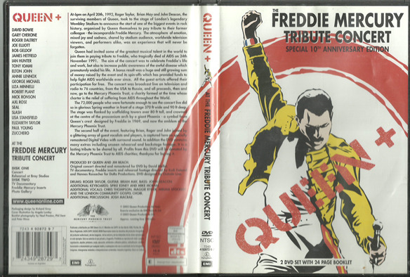 Queen The Freddie Mercury Tribute Concert 1992